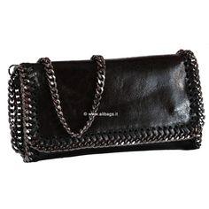 borsa da donna pochette piccola con tracolla pelle made in italy turchese 1020