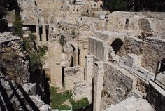 Pools of Bethesda www.ffhl.org #Franciscan #HolyLand