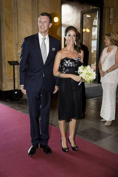 Prince Joachim and Marie  attend a performance at the Royal Theatre in Copenhagen June 25, 2014