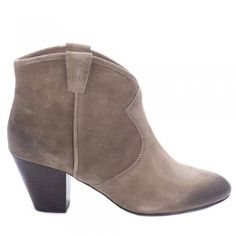 Ash JALOUSE taupe suede ankle boots