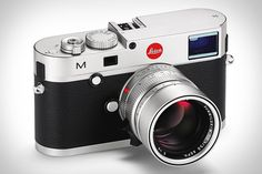 Exciting stuff, Leica have announced their latest products! In their list of new digital cameras are the two new rangefinders: Leica M, and Leica M-E. They are equipped with the latest innovations in digital technology. Check out the Leica website fo Leica M, Leica Camera, Rangefinder Camera, Camera Lens, Camera Obscura, Film Camera, Photographie Leica, Leica Appareil Photo, British Journal Of Photography