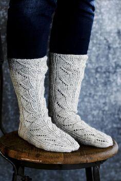 Nordic Yarns and Design since 1928 Lace Socks, Crochet Socks, Wool Socks, Diy Crochet, Knitting Socks, Knitting Ideas, Designer Socks, Long Winter, Boot Cuffs