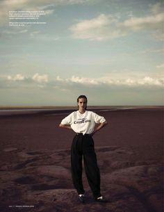 """Oneindig Schier"" : Mirte Maas : Vogue Netherlands November 2012 : Annemarieke Van Drimmelen"