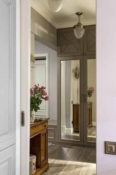 Klasszikus stílusú lakberendezés lágy, kellemes színekkel 60m2-en - egy fiatal pár kétszobás lakása