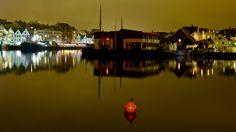 Haugesund havn, tatt 21.1. 2017