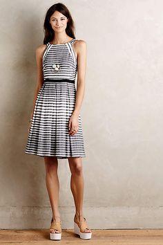 Saybrook Stripe Dress - anthropologie.com