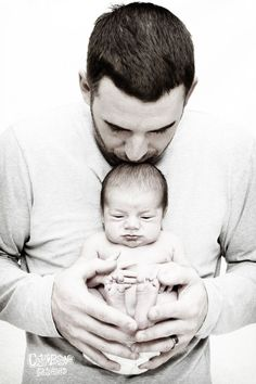 Daddy and newborn baby boy!    Newborn   Photography    Naples, FL #newbornphotography