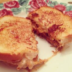 Buffalo Chicken Grilled Cheese | The College Cook Book