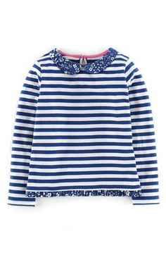 Mini Boden Pretty Collar Top (Toddler Girls, Little Girls & Big Girls) available at #Nordstrom