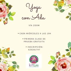 🔊🔊🔊Mañana 1 de Abril, abrimos una nueva etapa en Centro Ki* Lau, y queremos ofrecerte Clases Online de Yoga. Mañana Yoga con Ada, 19 H. Vía Zoom, te animas??🧘♀️🧘♂️ Informes e Inscripción:  Centro Ki * Lau 620 281 747 ( wasap o llamada) .  #centrokilau #yoga #yogagalicia #yogainspiration #yogapractice #yogavivo #yogavivoapp #zoom #zoomyoga #practicayoga #practicayogacambiatumundo #prácticayoga #practicayogaencasa #practicayogatodoslosdias #yogapratica #yogaencasa #yogaencasa🙏🕉🧘♀️…
