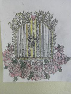 #self #made #golden #gate #tattoo #roses #dorns #crosses #road #doortomyheart