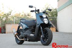 Angel Bleu - Yamaha Zuma 125 by Rucksters Customs