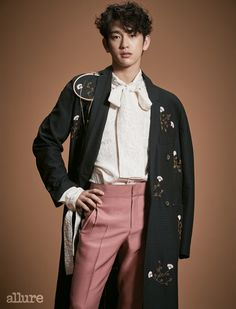 GOT7's Junior for Allure Korea February 2017. Photographed by Park Ja Wook