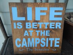 Personalized Camper decor Welcome to our camper sign by GGSIGNS