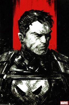 The Punisher by DavidRapozaArt.deviantart.com on @deviantART