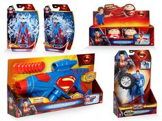 Man of Steel™--packaging/branding for Mattel Toys on Packaging Design Served
