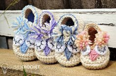 Little Owl Shoes pattern by Mellony Bester