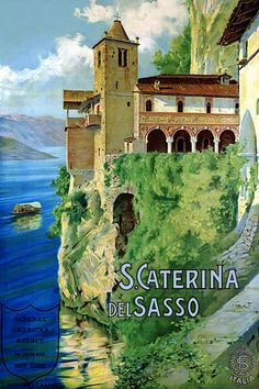 Italy Vintage Travel Posters Prints