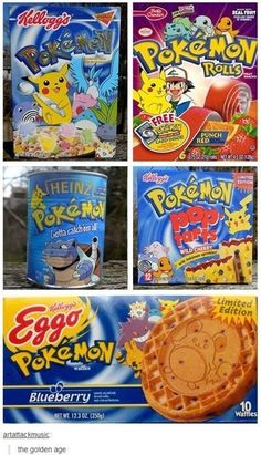 I like how on the cereal box you've got your average, everyday Pokemon and then all of a sudden ARTICUNO!!!!!!