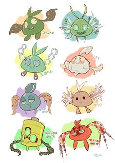 Pokemon-variations. AW come on, really? Lol that's nasty.