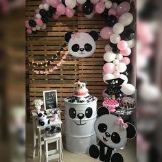 44 Ideas baby shower ides decoracion panda for 2020 Panda Themed Party, Panda Birthday Party, Panda Party, Girl Birthday, Birthday Parties, Baby Shower Parties, Baby Shower Themes, Shower Party, Pink Panda