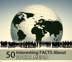 50 interesting facts about social media #socialmedia #marketing