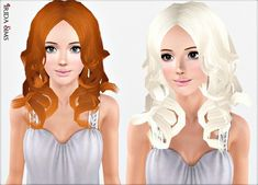 Hair 29 by Irida - Sims 3 Downloads CC Caboodle History Of Ghana, Download Hair, Free Sims, Sims Resource, Sims 3, Aurora Sleeping Beauty, Disney Princess, Female Hairstyles, Disney Characters
