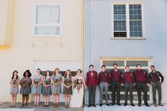 The whole gang #sf #sfwedding #bride #groom #wedding