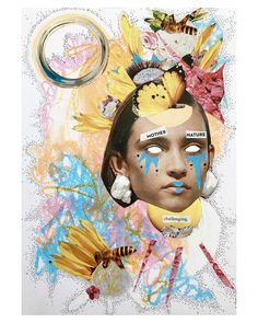 Mixed Media, Collage, Princess Zelda, Fictional Characters, Art, Art Background, Collages, Kunst, Collage Art