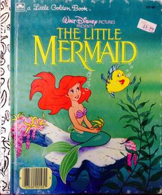 Walt Disney's The Little Mermaid Little Golden Book by Lonestarblondie on Etsy