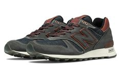 New Balance's Distinct Authors 1300, Blue with Navy & Brown. Note the Cone Denim and copper details. This right here is a sweet, sweet pair of sneakers.