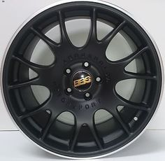 19 inch alloy wheels bbs ch #style vw #passat 5 stud black #silver lip     set of,  View more on the LINK: http://www.zeppy.io/product/gb/2/252501084775/