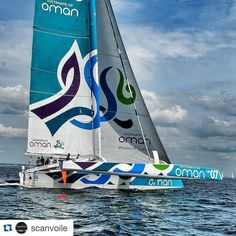 #sharemysea #Repost @scanvoile  [#Picoftheday - #Photooftheday] Image du jour #Like #Voile #SailingDay #Sailing #InstaSail #InstaBoat #InstaVoile #Instagood #Instamood #Instalater #Sailing #Multi #OmanSail #ShareMySea