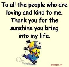 Well Said Quotes By The Minions by Cute Quotes, Great Quotes, Funny Quotes, Inspirational Quotes, Qoutes, Motivational, Message Positif, Minions Love, Minions Friends