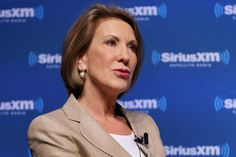 Carly Fiorina an the campaign trail.