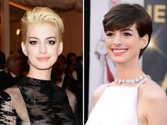 Anne Hathaway finds out if blondes have more fun