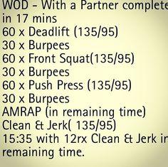 Crossfit Partner WOD