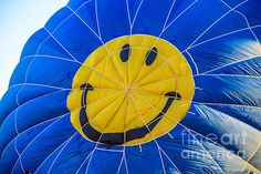 Smiley Balloon: See more images at http://robert-bales.artistwebsites.com/