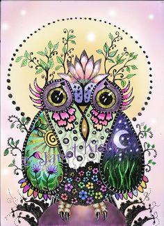 owl by Janet Kisch
