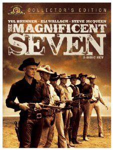 The Magnificent Seven: Yul Brynner, Steve McQueen, Charles Bronson, Robert Vaughn, James Coburn, Jorge Martínez de Hoyos, Rico Alaniz, Pepe Hern, John Sturges,