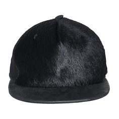 Drkshdw By Rick Owens Fishnet hat with fur ($543) ❤ liked on Polyvore featuring mens, men's accessories, men's hats ve black