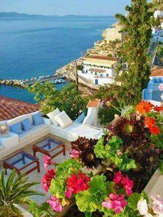 Hydra island, Saronicos bay, Greece