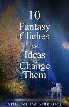 10 Fantasy Clichés and Ideas to Change Them Fantasy Cliches and Ideas writing fantasy fiction Picture Writing Prompts, Writing Prompts For Writers, Book Writing Tips, Writers Write, Writing Skills, Writing Resources, Writing Process, Writing Jobs, Writing Strategies