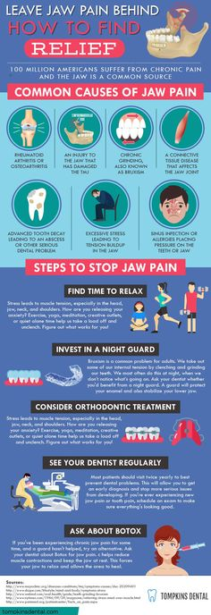 How to Avoid Common Causes of Jaw Pain #TMJ #jaw #jawpain #relief