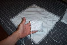Lotties Charity Crafts: Instructions for Making A Bereavement Layette Baby Gown, Christening Gowns, Heirloom Sewing, Preemies, Preemie Babies, Porcelain Tiles, Porcelain Doll, Angel Outfit, Angel Dress