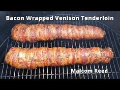 When it comes to deer, it doesn't get better than fresh venison backstrap. This bacon wrapped deer backstrap recipe takes this beautiful piece of meat to a whole new level. A level of mouth watering bacon and venison delight. Bacon Wrapped Venison Backstrap Recipe, Deer Backstrap Recipes, Deer Tenderloin Recipes, Venison Tenderloin, Deer Recipes, Rib Recipes, Game Recipes, Diabetic Recipes, Recipies
