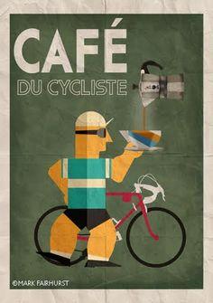 Mark Fairhurst Cafe du Cycliste