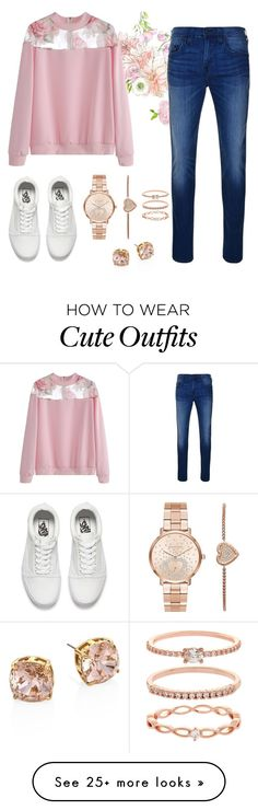 """""""Cute Outfit"""" by white777 on Polyvore featuring True Religion, Vans, Michael Kors, Accessorize and Tory Burch"""