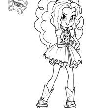 Coloring Pages Rainbow Rock 2020 My Little Pony Coloring