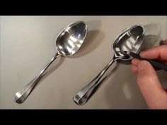 Realism Challenge #1 How to Draw a Realistic Spoon, Time Lapse - YouTube